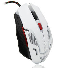 Professional Wired Mouse USB Optical Gaming Mouse Mice Cable 6 Buttons For PC Laptop Pro Gamer Original FANTECH V2