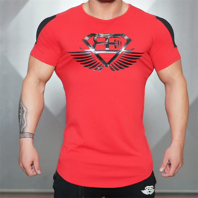 Summer In 2016 Engineers Stringer T-shirt Man body Engineers Bodybuilding And Fitness Sportswear men T-shirt