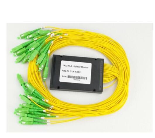 Module de séparateur de coupleur d'abs de la Fiber optique 1x32 pour des réseaux de PON SC/APC