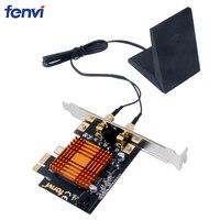 Fenvi Dual Band AC1200 8265NGW Desktop PC PCI E Wireless WiFi Adapter Wi Fi Network Card