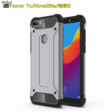 Cover Huawei Y7 Prime 2018 Case Durable Armor TPU & PC Case For Huawei Y7 Prime 2018 Funda for Huawei Honor 7C Pro / Nova 2 Lite for cover huawei y7 prime 2018 case tpu