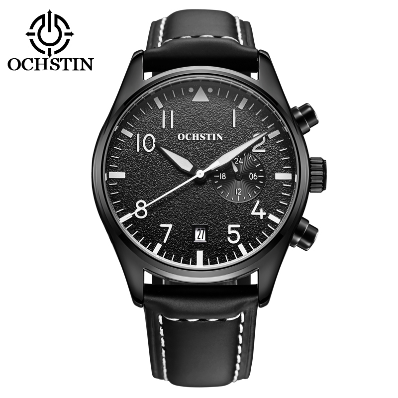 OCHSTIN Lyxvarumärke Armbandsur Armé Militär Mode Quartz Klockor Mäns Ur Klocka Sport Armbandsur Man Relogio Masculino