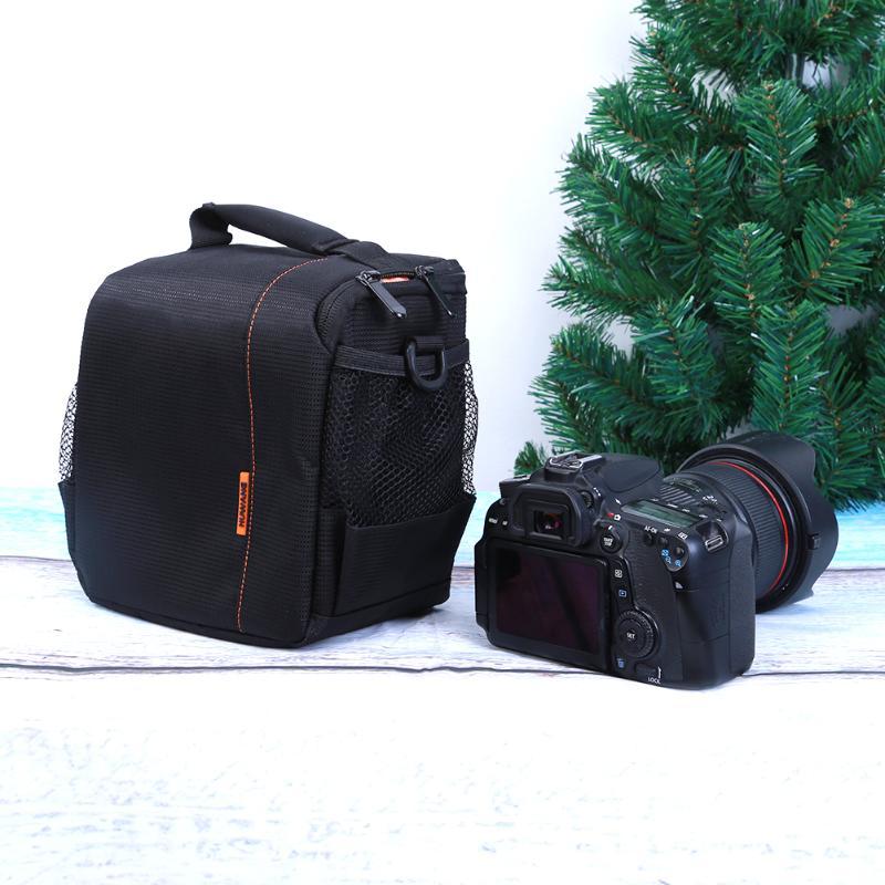 Waterproof Camera Bag Case Nylon Backpack Bag Camera Video Bag with Shoulder Strap for Canon