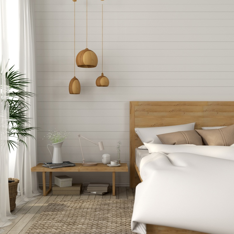 Laeacco Room Cozy Decor Bed Bulb Gray Wall Blanket Baby Interior Photo Backgrounds Photography Backdrops For Photo Studio