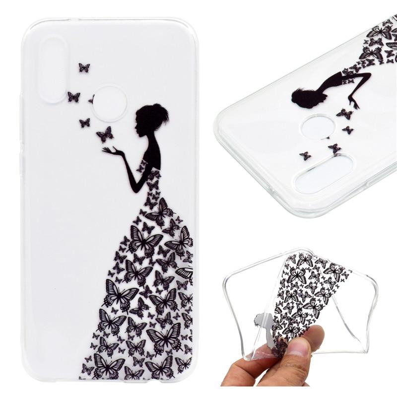 Transparan TPU Penutup Untuk Huawei P20 Lite Kasus Warna dekorasi - Aksesori dan suku cadang ponsel - Foto 5