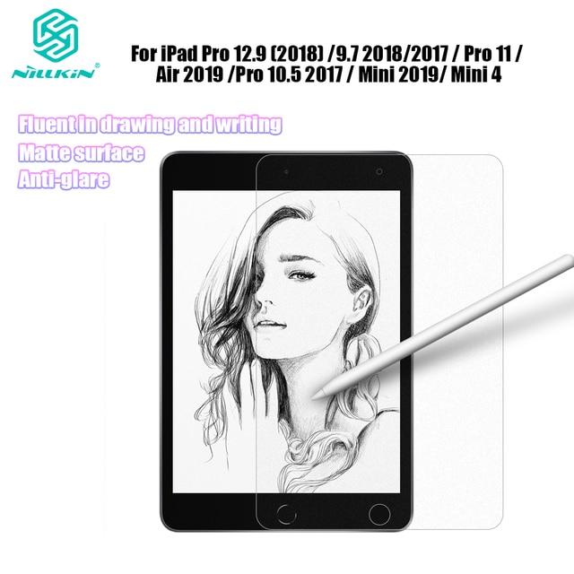 Nillkin Like Writing on Paper Screen Protector for iPad Pro 12.9 2020 / 9.7 / Pro 11 / Air 4 / Pro 10.5 2017 / Mini 2019 / 4