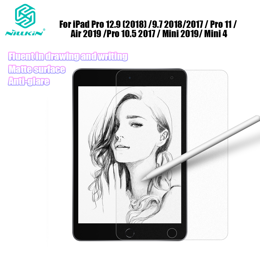 Nillkin Matte PT AG Paper-like Screen Protector For IPad Pro 12.9 / 9.7 / Pro 11 / Air 2019 / Pro 10.5 2017 / Mini 2019 / 4