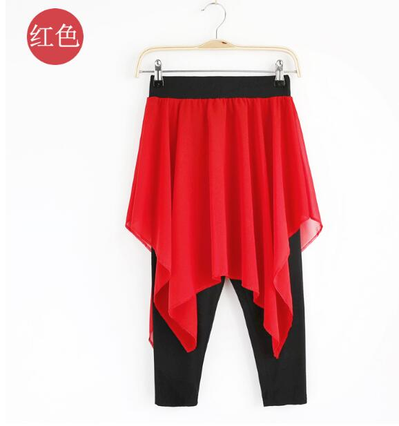 Women's Belly Dance Costume Suit (Yarn Strapless Tops+waist Skirt Pants) 2pcs/set Indian Dance