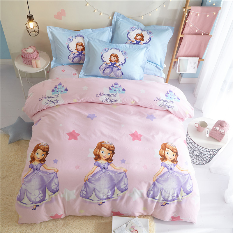Bedding Set Pink Room Decor