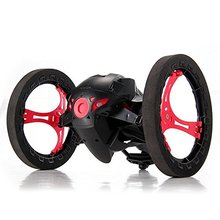 2.4G RC Radio Drone Jump High Bounce Car with Flexible Wheels