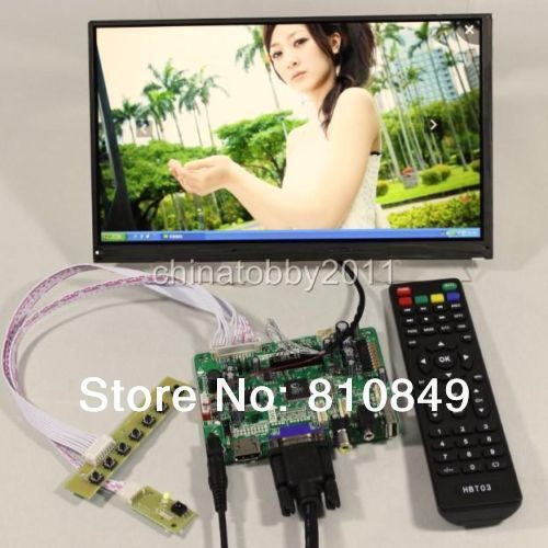 FPV HDMI+VGA+AV+Audio+USB Control board+10.6inch LTL106AL01 1366*768 IPS lcd panel screen model lcd for Raspberry Pi  hdmi vga av audio usb fpv control board 14inch ltn140at26 lp140wh1 1366 768 lcd screen model lcd for raspberry pi