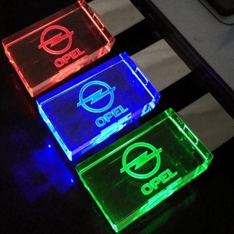 Glass Crystal font b USB b font font b Flash b font font b Drives b