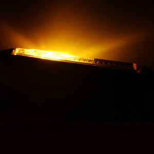 Image 4 - 2 CHIẾC AOHEWEI 12 V 24 V LED hổ phách bên cột mốc đèn báo vị trí đèn Led Ligh đèn ký ánh sáng cho xe kéo LED đuôi đèn