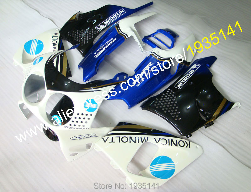 Hot Sales,For Honda CBR900RR Fireblade 1992 1993 CBR 893 RR CBR900 RR 92 93 CBR 900RR Konica Minolta Motorcycle Fairing Body Kit hot sales konica bodywork kit for honda