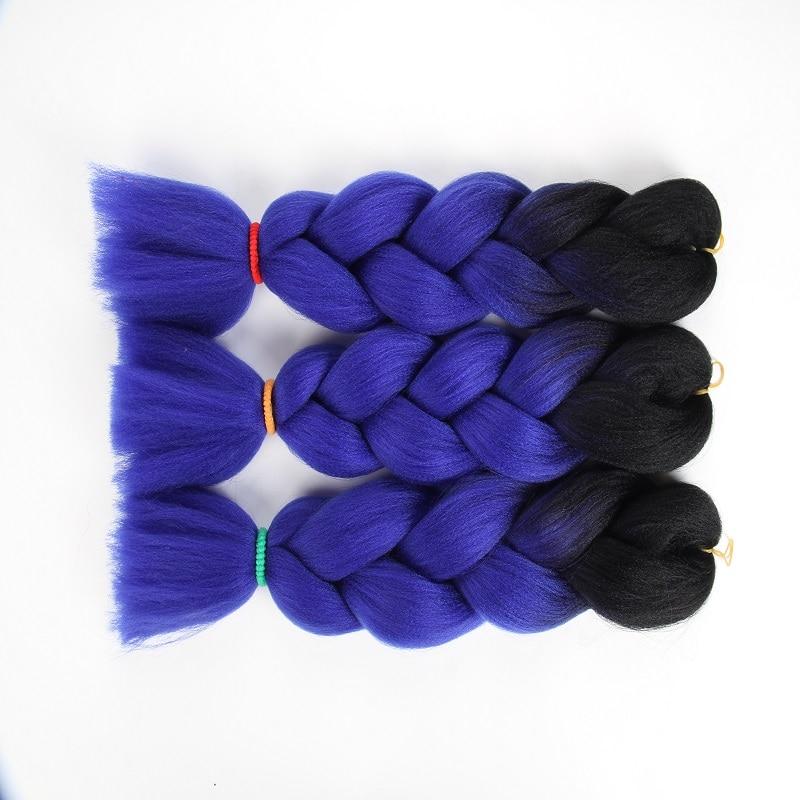 Hair Braids Crochet Intrecciare I Capelli Di Un Pezzo 82 Pollice Intrecciare I Capelli Sintetici Kanekalon 165 G Pure Whiteness Hair Extensions & Wigs