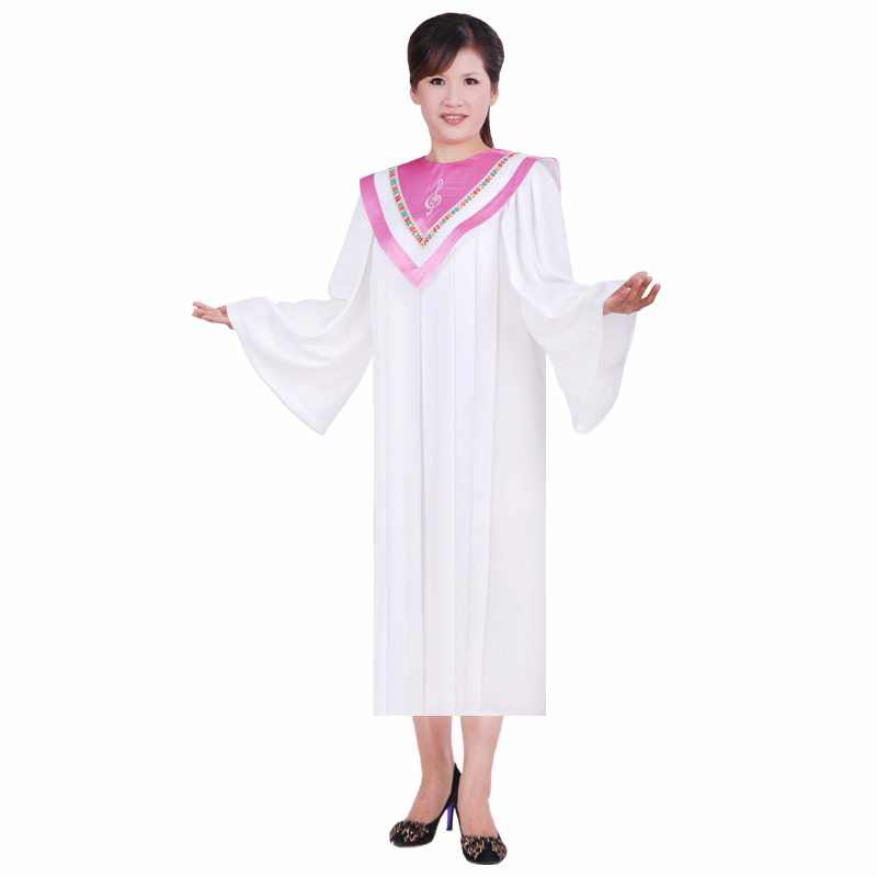 Christian Church Gown Christian Costumes For Adults Psalm Robes Long Church Clothing For Adults Black Friday White Robe