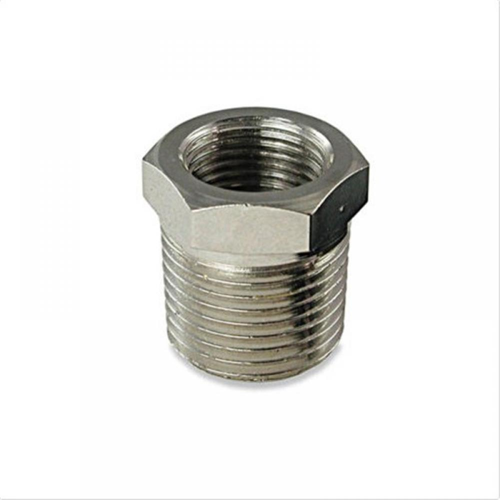 """2/"""" Male x 1-1//2/"""" Female Threaded Reducer Bushing Pipe Fitting SS 304 NPT NEW"""
