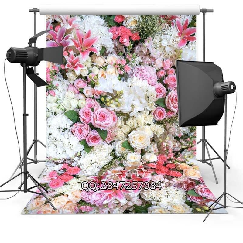 fce965f025eb51 ⊱Cienka tkanina tkaniny stock Wydrukowano tle kwiat tło F-2425 - w582