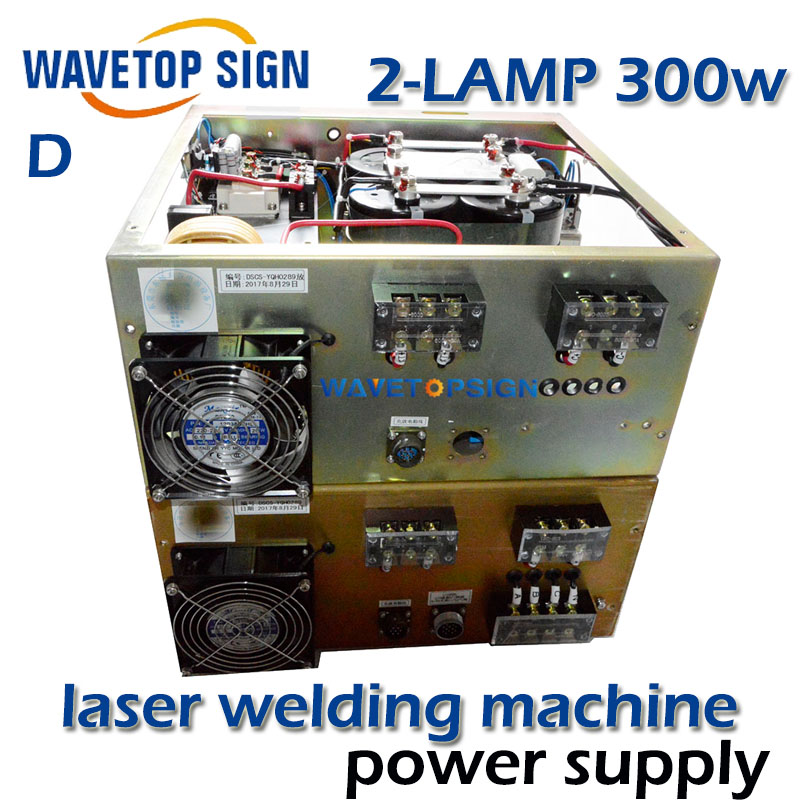 все цены на Laser welding machine dedicated power supply touch screen control. light stability two layer box 2 bulbs  two yag lamp 300w онлайн