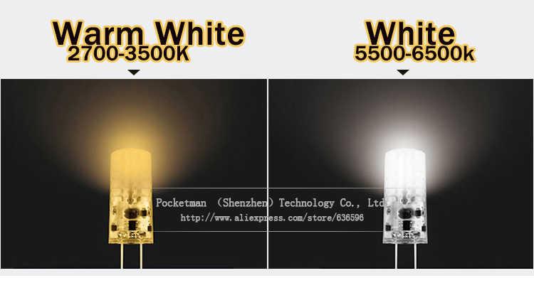 Новый Диммируемый G4 светодиодный светильник 3 Вт 6 Вт Мини светодиодный G4 лампа DC/AC 12 В светодиодные лампы лампочки Заменить галогенная хрустальная люстра ZK93