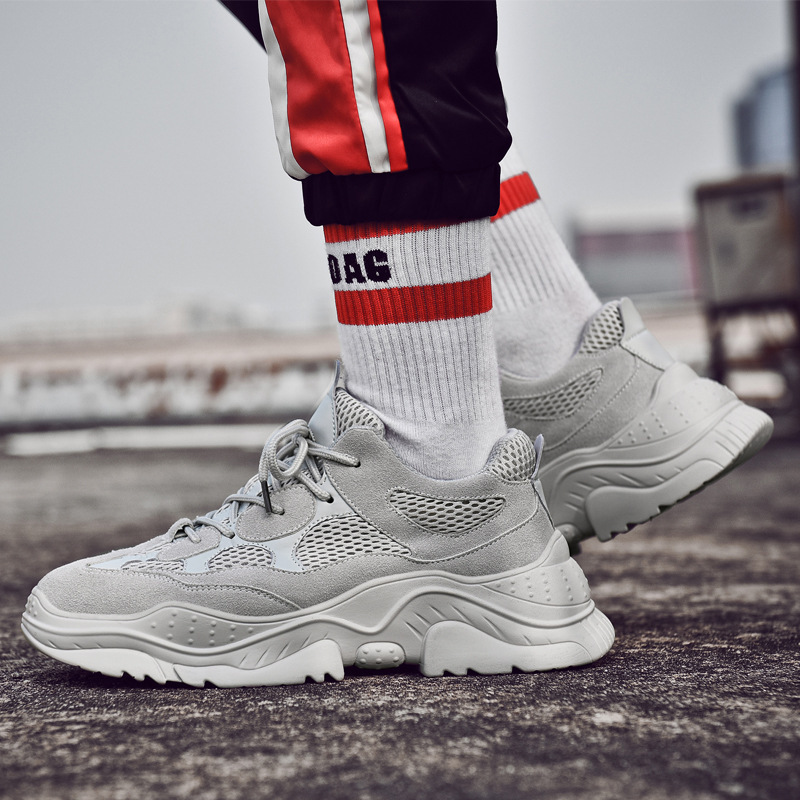 detailed look 282bb fae32 Vintagechunky Sneakers 2019 Kanye West Fashion Mesh Light ...