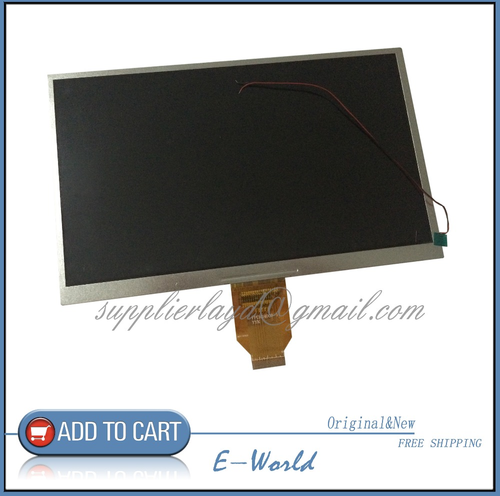 Original 10.1inch 40PIN sharpness of separation 1024x600 HD TFT LCD Screen FPC1014003-1 FPC1014003 for Tablet PC Free shipping