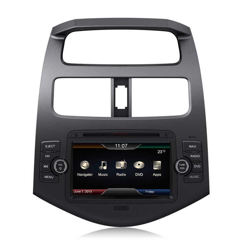 touch screen auto car stereo dvd gps with built in gps ipod bluetooth mp3 usb port free sd card. Black Bedroom Furniture Sets. Home Design Ideas