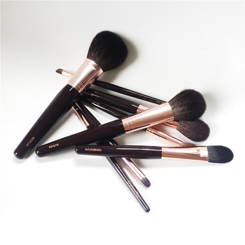 Bdbeauty 8 Brosses Ensemble Complet Bronzer/Blush/Mélangeur/Fondation/Poudre et Sculpter/Tache /lèvres/Doublure Beauté Maquillage Blender Outils-in Recourbe-cils from Beauté & Santé    3