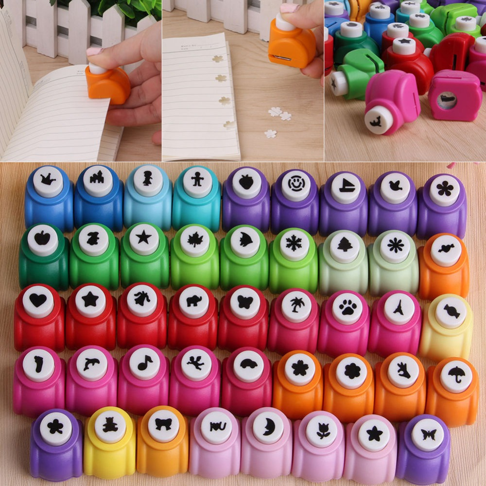 1-20   New Printing Paper Hand Shaper Scrapbook Tags Cards Craft DIY Punch Cutter Tool