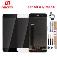 Hacrin Xiaomi Mi5X LCD Display Touch Screen Digitizer High Quality Replacement For Xiaomi Mi 5X 5