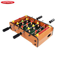 2019 Mini Wooden Indoor Table Football Table Game Four bar Puzzle Soccer Table Football gioco da tavolo Developing kid toy