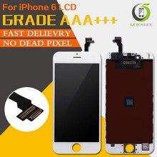 Perfeito 3d toque pantalla aaa para iphone 6 tela lcd de alta cor gamut diaplay assembléia substituição da tela toque + presente toois