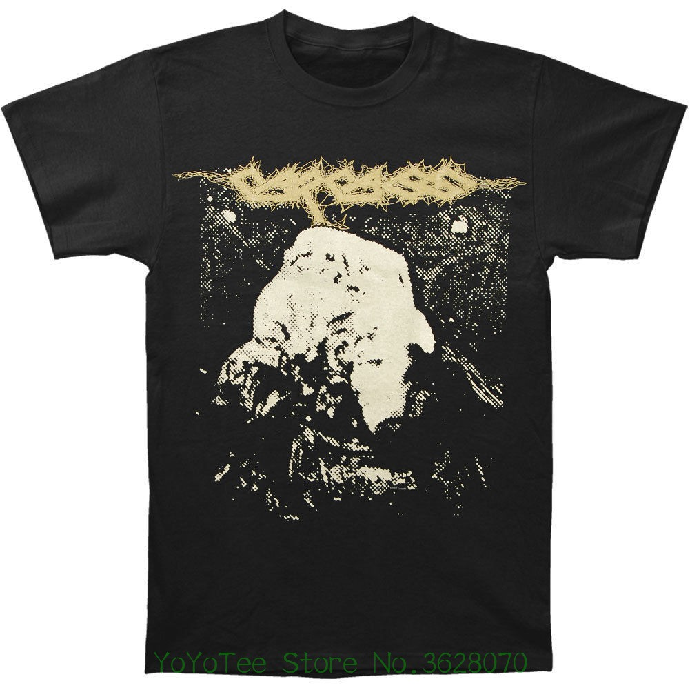 Tshirt Brand 2018 Male Short Sleeve Carcass Men&#039 ; S Symphonies Of Sickness T-shirt Black