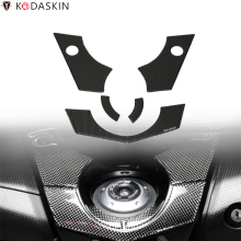Freeshipping KODASKIN 3D Motorcycle Decal Ignition Key Raised Sticker Carbon Protector Emblem For TMAX TMAX530 XP530