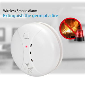 Image 2 - PGST 3pcs/lot 433MHz Wireless Smoke Detector Fire Sensor For WIFI GSM office home security Alarm System Auto Dial alarm Systems