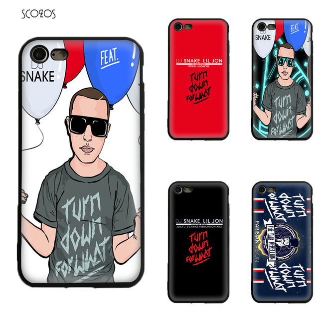 dj snake feat lil jon silicone tpu phone case soft cover for iphone