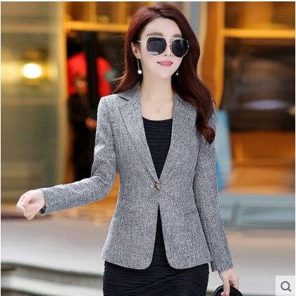 Linens Plus Size Long Sleeve Women Ladies Cape Blazer Women Sexy Slim Elegant Jacket Blazer Female Casual Blazer