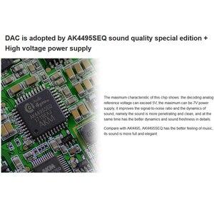 Image 3 - QLS QA361 HiFi Lossless טהור צליל DSD קשה קוד מוסיקה נגן MP3 כפולה Femtosecond שעון AK4495SEQ DAC שבבי 6 * OPA1622 3800 mAH