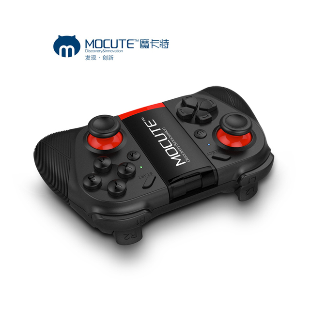 MOCUTE 050 Build in battery GamePad Joystick Bluetooth Controller Remote Control Gamepad for PUGB mobile PC iso Android iphone