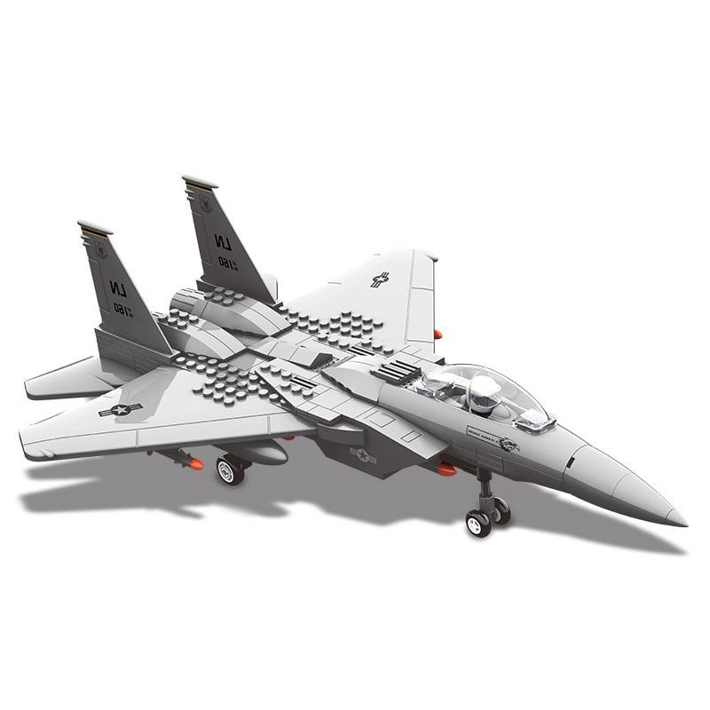 PIP GAMES Model Building Blocks Military 286 pcs Army Model Set Educational Toys Airplane Legoed Stacking Blocks Toy PGM007