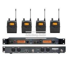 SR 2050 IEM SR2050 In Ear Monitor de Sistema de 2 Canales 4 de Bolsillo de Vigilancia con en el auricular inalámbrico wireless monitor de escenario sistema