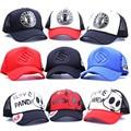 Unisex Hombres Mujeres Hip-Hop Gorras Camionero Baseball Golf Mesh casquillo del snapback ajustable del sombrero del sol del sombrero blanco curved visera 20 color