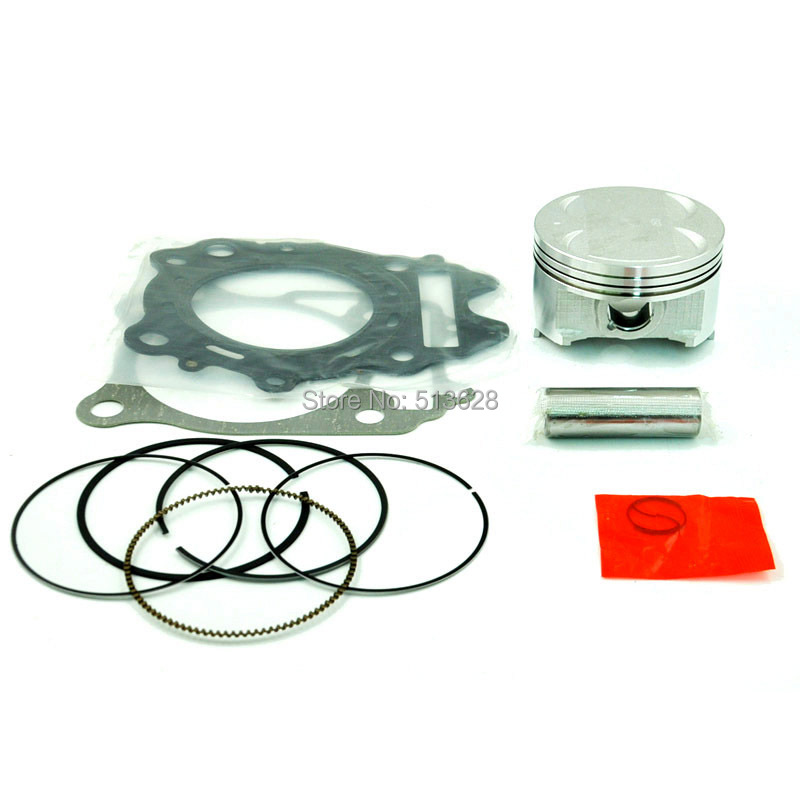 Motorcycle Engine Parts Std Cylinder Bore Size 55mm: 83mm Standard Bore Size Piston Kit & Top End Gasket Set