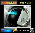 MR-7 1.67 Super High Index Optical Lenses Single Vision Aspherical Super Tough Waterproof HMC EXIA OPTICAL KD-309 Series