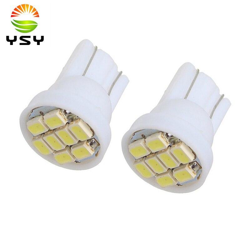 4000pcs T10 1206 3020 8SMD w5w 194 168 192 Auto Car Wedge 8 LEDs SMD Auto