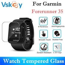 100 шт закаленное стекло для Garmin Forerunner 35 протектор экрана для Garmin Forerunner F35 спортивные Смарт часы защитная пленка