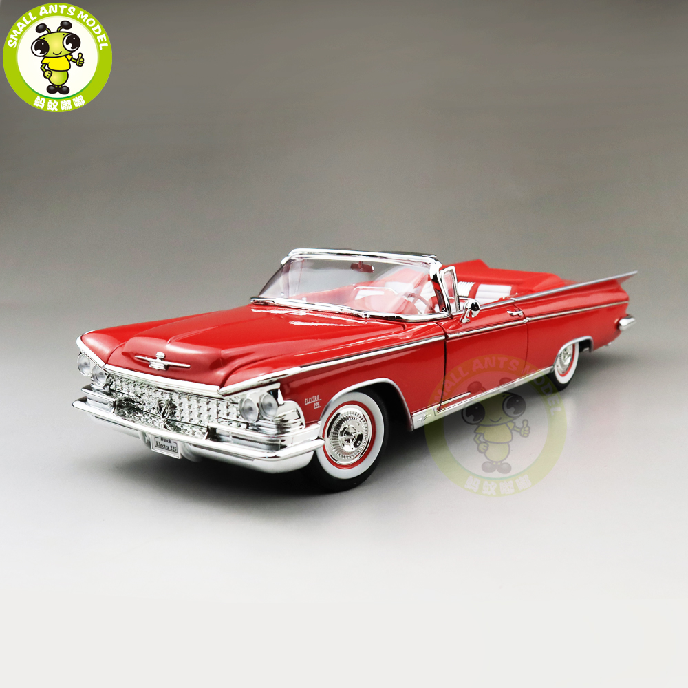 1/18 Buick 1959 ELECTRA 225 Road Signature Diecast Model Car Toys Boys Girls Gift