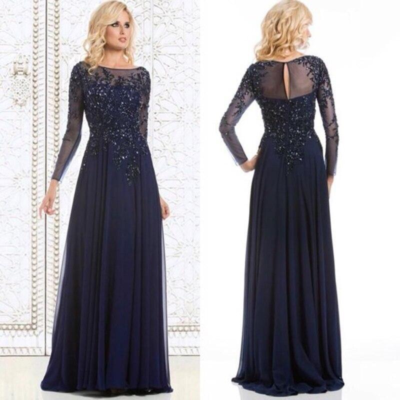Online Get Cheap Blue Chiffon Formal Dress -Aliexpress.com ...