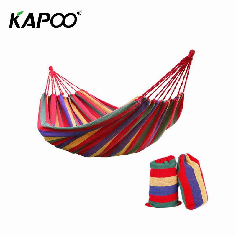 Portable Single Canvas Hammock Outdoor Leisure Camping Hammock Swing Chair Outdoor Furniture Dormitory Rest Bed Outdoor Hammock постельное белье sofi de marko давинчи семейное