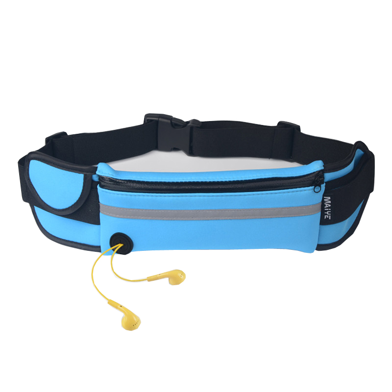 2019 Jauna ūdensnecaurlaidīga vīriešu jostas josta daudzfunkcionāla Bum vidukļa somiņa Fanny mobilā telefona pakotne Sieviešu somas vīriešu vidukļa pakām